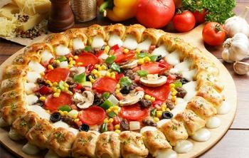 10英寸披萨1份-广州周周乐