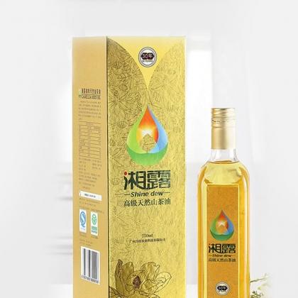 湘露高级天然山茶油精品礼盒装750ML