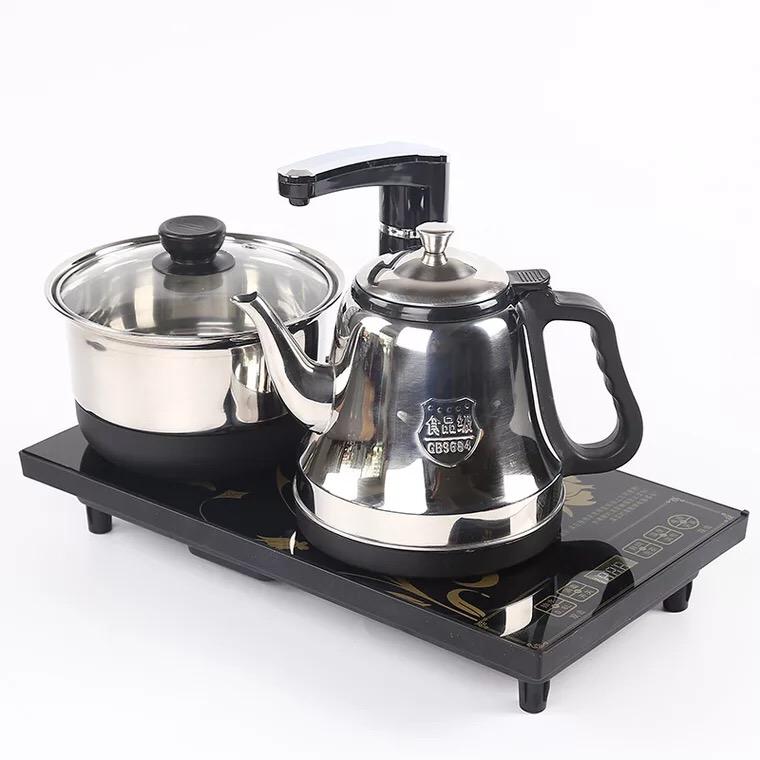 三合一快速炉自动上水电磁炉家用电茶炉快速消毒烧水泡茶炉