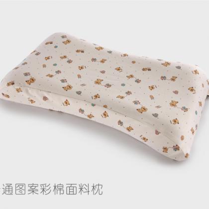 婴童枕彩棉印花