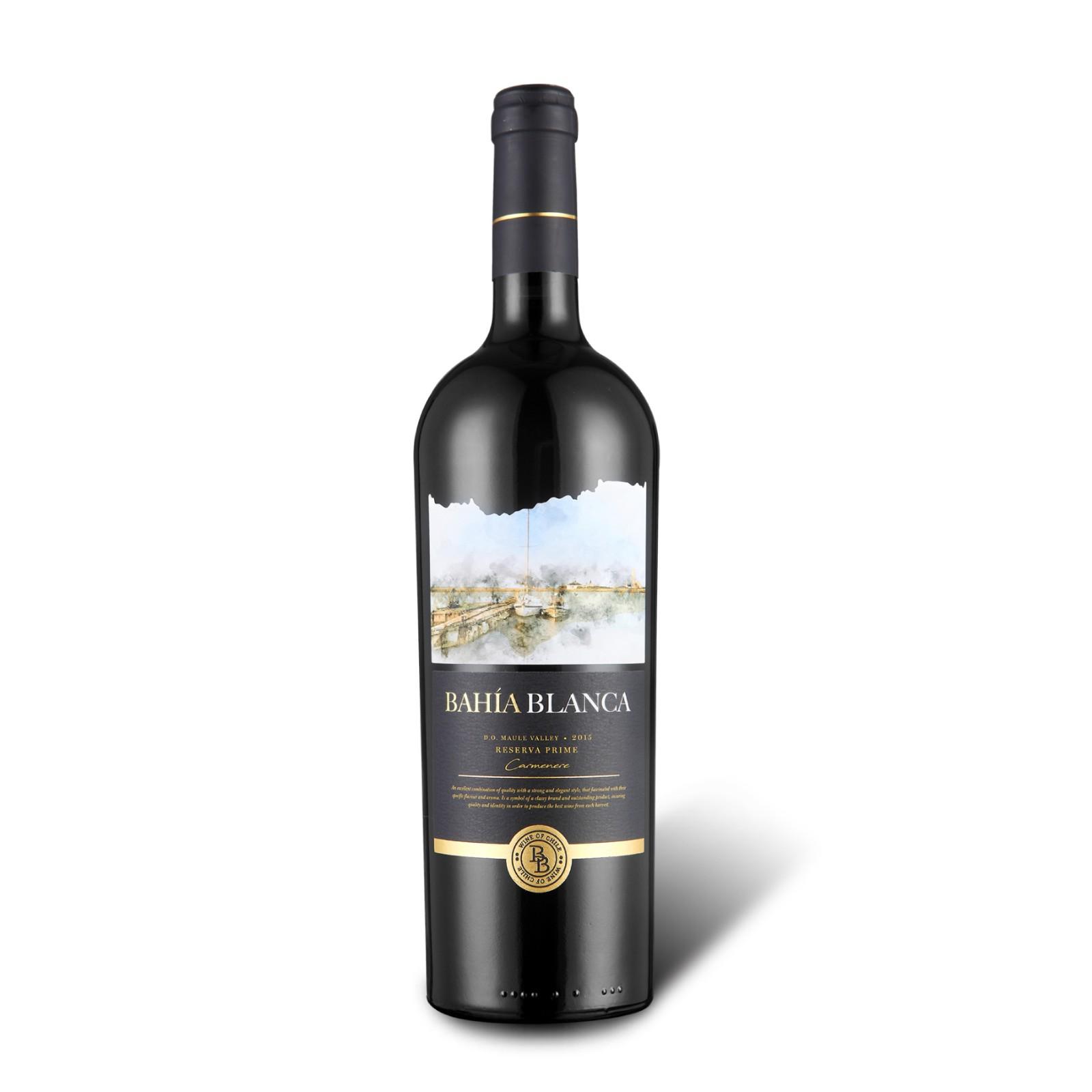 白堡湾明月卡曼尼红葡萄酒