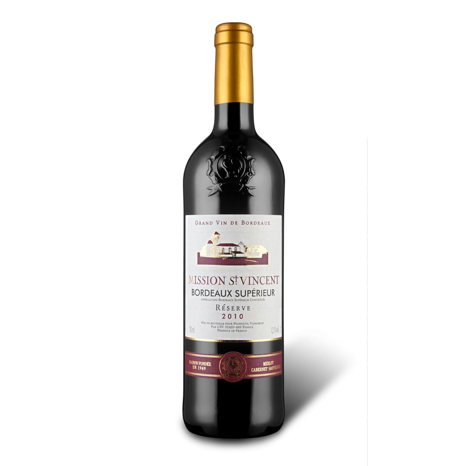 圣徒之心波尔多红葡萄酒