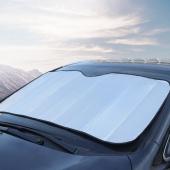 单面银太阳前挡防晒遮阳板