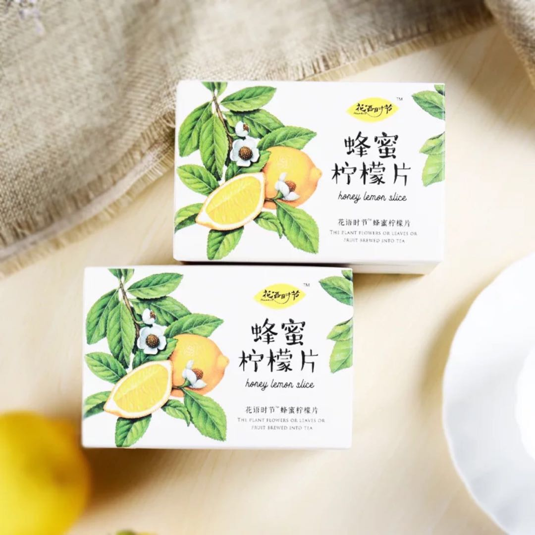 柠檬片泡茶干片蜂蜜冻干柠檬片