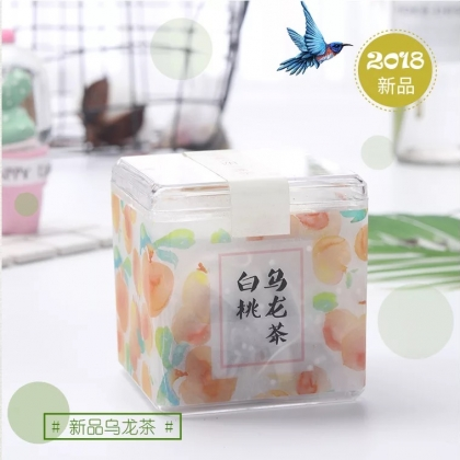 白桃乌龙茶 水果粒茶 冷泡茶一盒