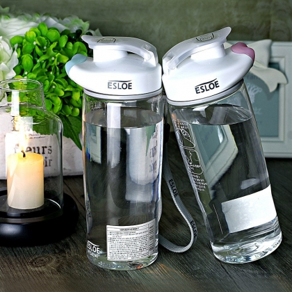 韩国ESLOE分享杯 透明户外塑料杯