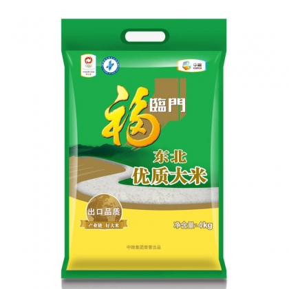 福临门 东北优质大米4KG 中粮出品