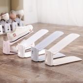 梦妮简易鞋架一体式可调节双层鞋托