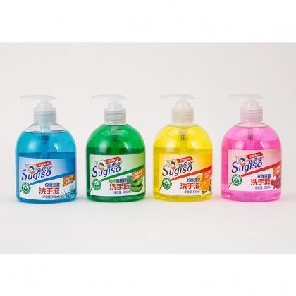 新居爽 护理洗手液 温和配方呵护双手去异味 500ml/瓶*3