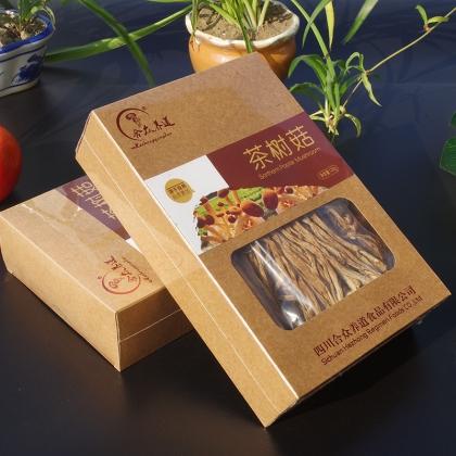 合众养道茶树菇品质款120g 牛皮纸盒装