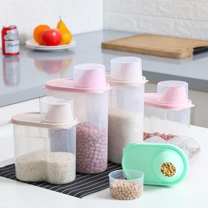 五谷杂粮存储罐厨房食品收纳密封罐