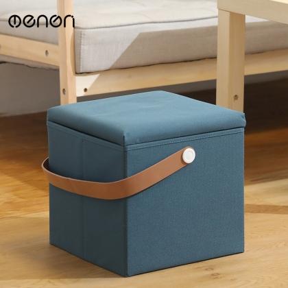 梦妮 方形收纳凳子储物凳沙发软凳
