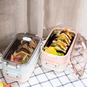 304不锈钢保温饭盒可注水便当盒单层/双层